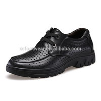 5629 men genuine cow leather dress casual shoes with hollow