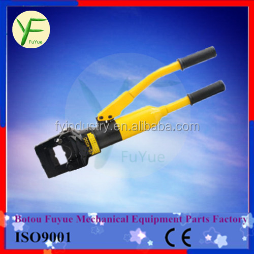 plastic carring case portable hydraulic cable lug crimping tool with crimping moulds 16-400 mm2