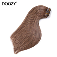high quality peruvian virgin remy 8 inch clip-in human hair extensions