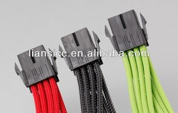 Cpu 8 Pin Inti Daya Extension Kabel 18awg 30 Cm Untuk Air
