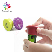 Cheap Price Custom 100% Food Grade Reusable Silicone Wine Bottle Caps