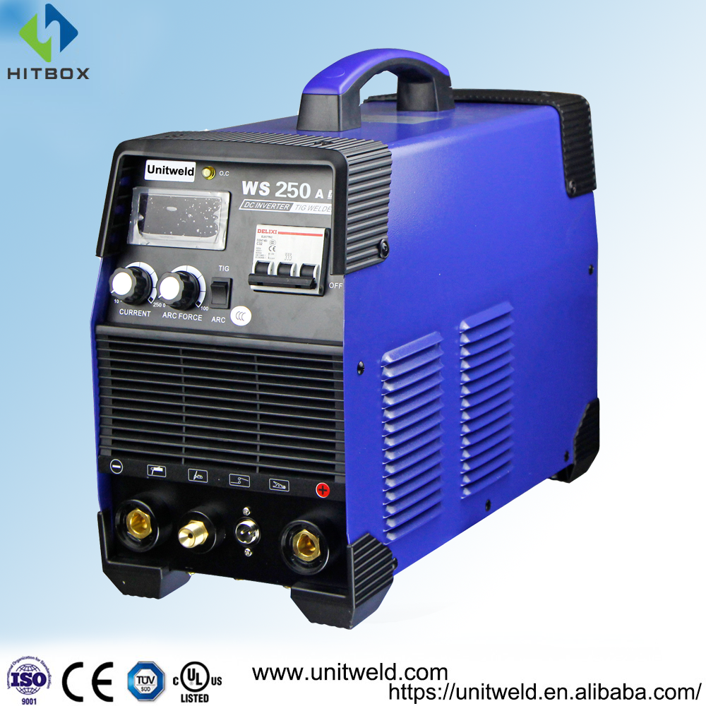 Tig 250 ac dc mosfetWelding Machines, Mosfet TIG DC Welder, Vmos, Anti-electricity Fluctuation & with Agon Torch