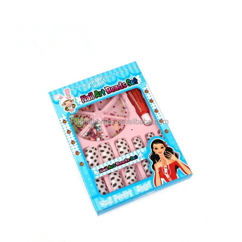 False Nail Packaging /false Nail Box/packaging For Artificial Nails ...