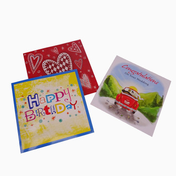 Birthday Cards With Name Hot Stamping And Embossing Happy Pop Up Card Good