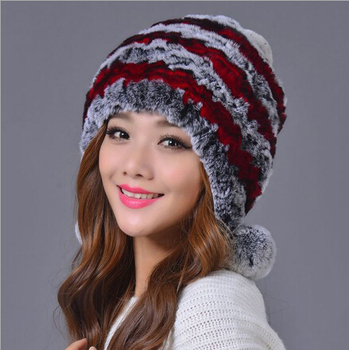New Arrival Fashion Colorful Russian Style Ladies Fur Hat Patterns ... f946c72f6b4