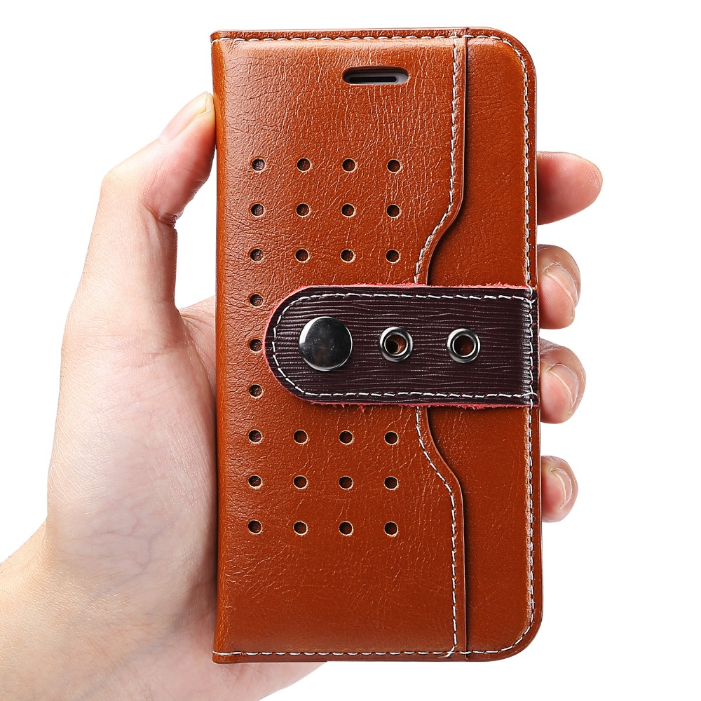 Oem phone case 2017 hot for iphone 7 wallet flip leather case premium