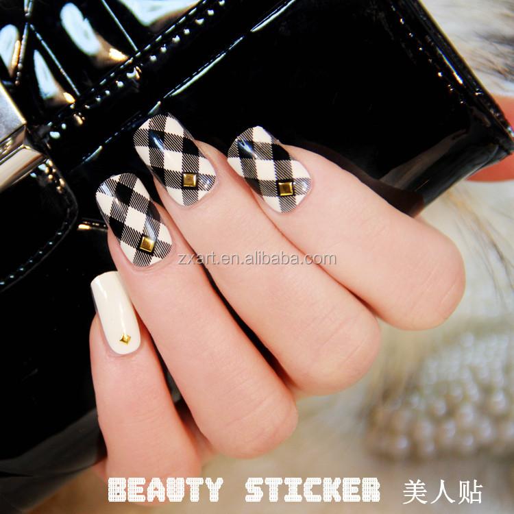 2015 Newest Designs Korean Style Metal Stamping Nail Art - Buy Metal ...