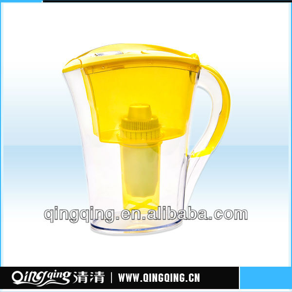 QQF-02 portable plastic water jug with filter
