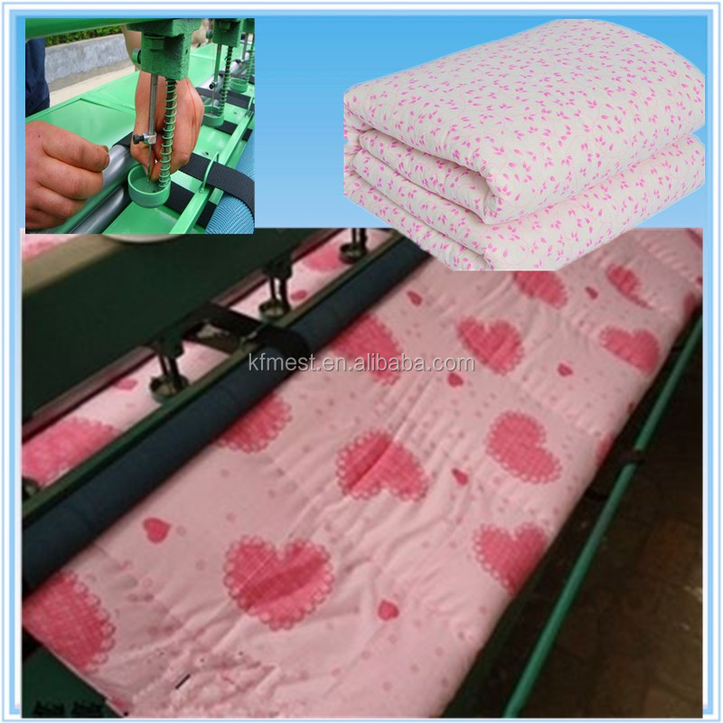 Automatic Multi Needle Quilting Machine / Quilting Sewing ...