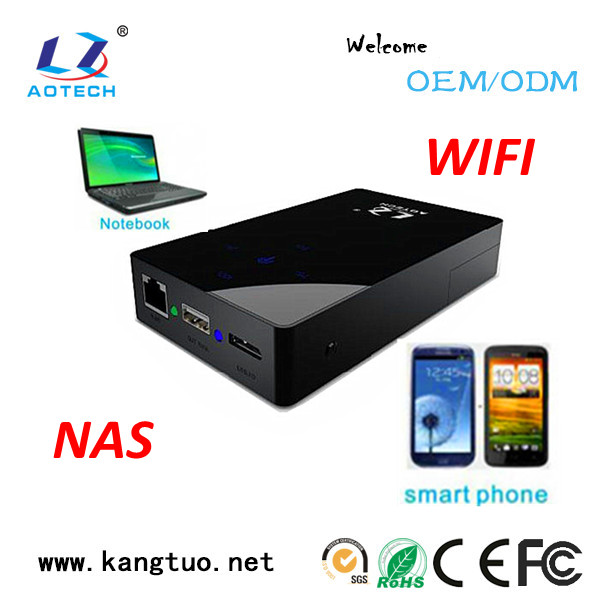 "High quality 2.5"" WIFI portable hard disk"