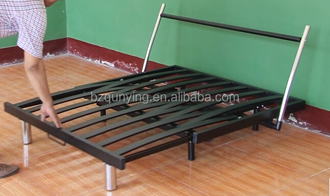 modern appearance metal fold up bed mechanism frame buy fold up bed mechanismiron bed framefolding bed frame product on alibabacom