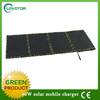 Folding solar charger solar battery solar power bank for samsung galaxy for iphone