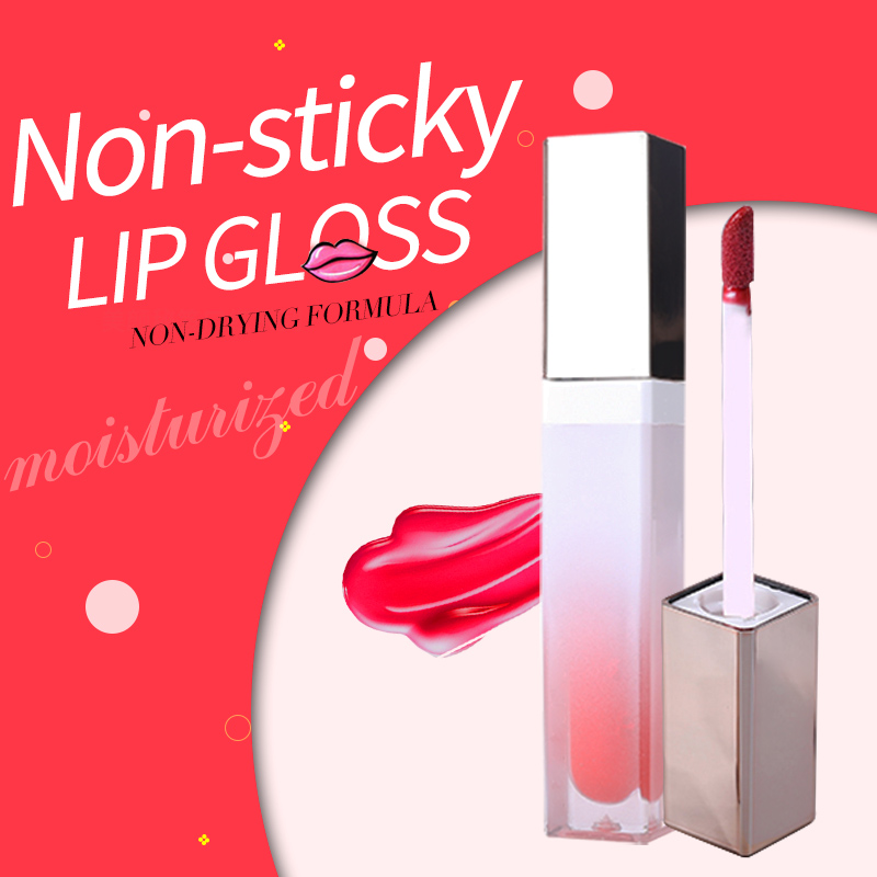 Private Label Moisturizing Make Up Liquid Lipstick Makeup Shimmer Glossy Lipgloss