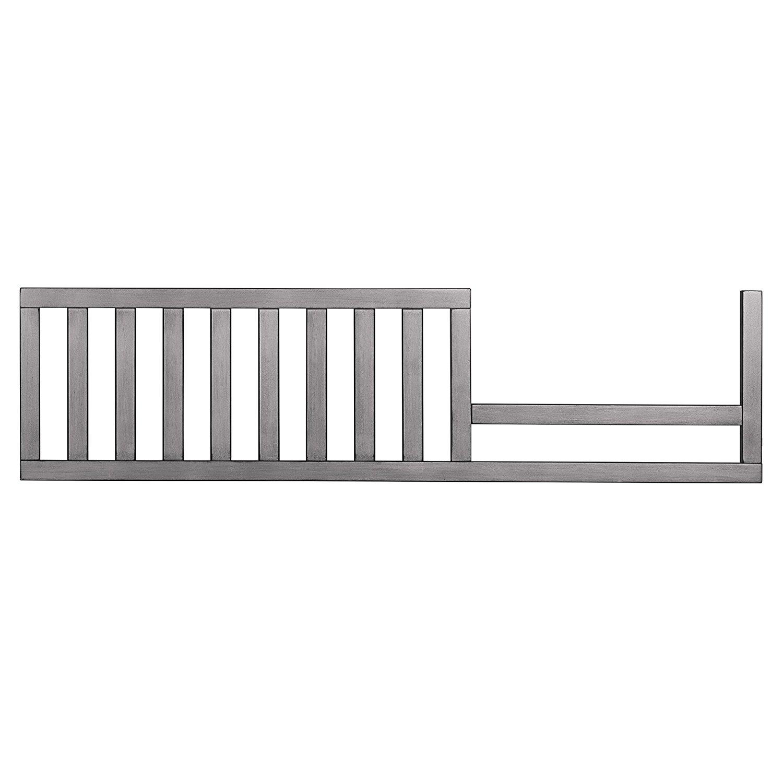 Evolur Convertible Crib Toddler Guard Rail, Storm Grey