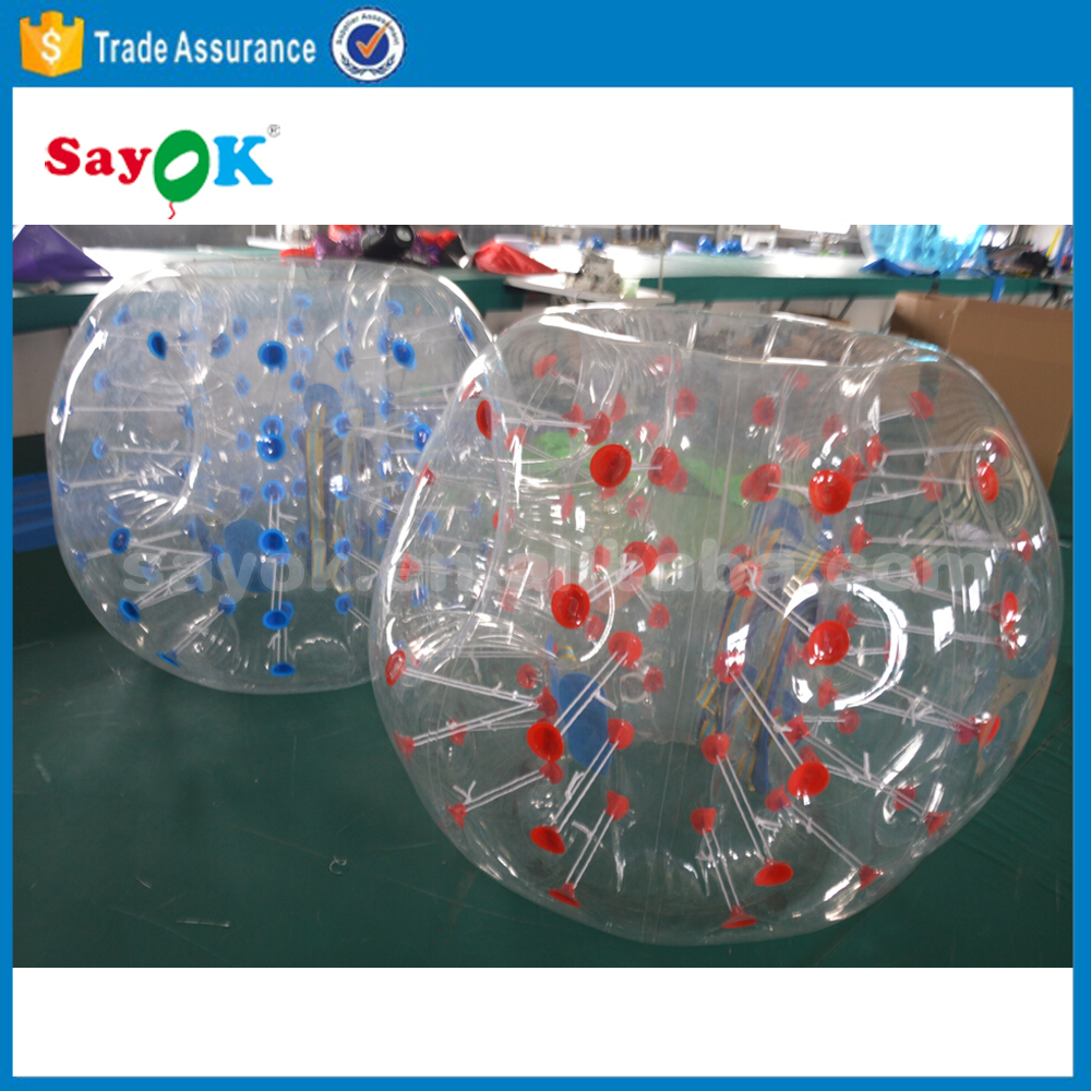 hot sale PVC or TPU loopy ball/ human bubble knocker ball/hamster ball for adults