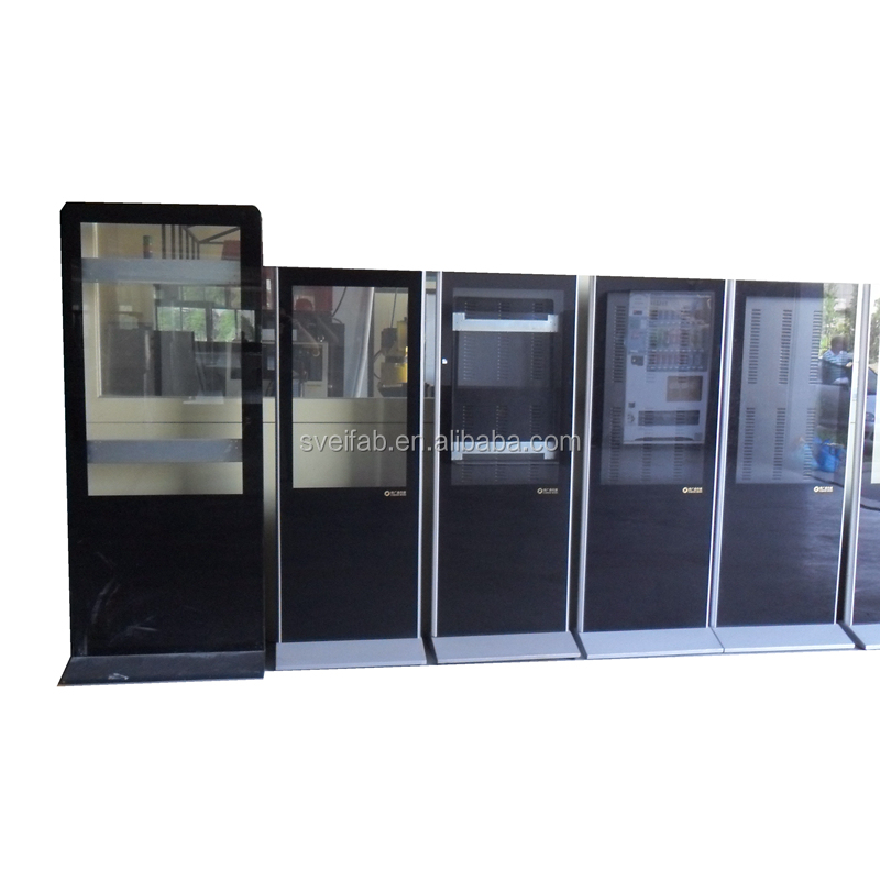 OEM/ODM high quality powder coating led display cabinet fabrication