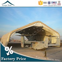 Water Proof Aircraft Hangar Different Size Tent With Heavy Duty Materials