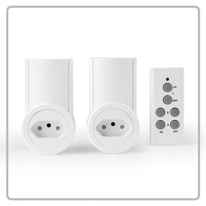 BR type plug 230V 10A wireless remote control socket outlet