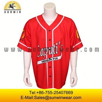 Custom Sublimation Sports Wear Team Set New Design Baseball Jersey