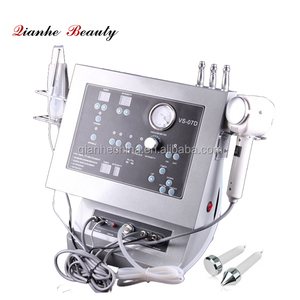 Hot and cold hammer ultrasonic scrubber diamond microdermabrasion peel machine