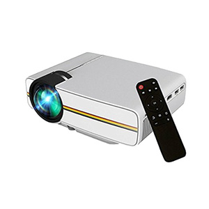 Cheap hot wholesale price 3D LED 1000 lumens more stable mini projector YG400