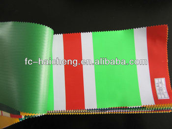 100% Polyester awning fabric/canopy fabric/striped pvc tarpaulin & 100% Polyester Awning Fabric/canopy Fabric/striped Pvc Tarpaulin ...