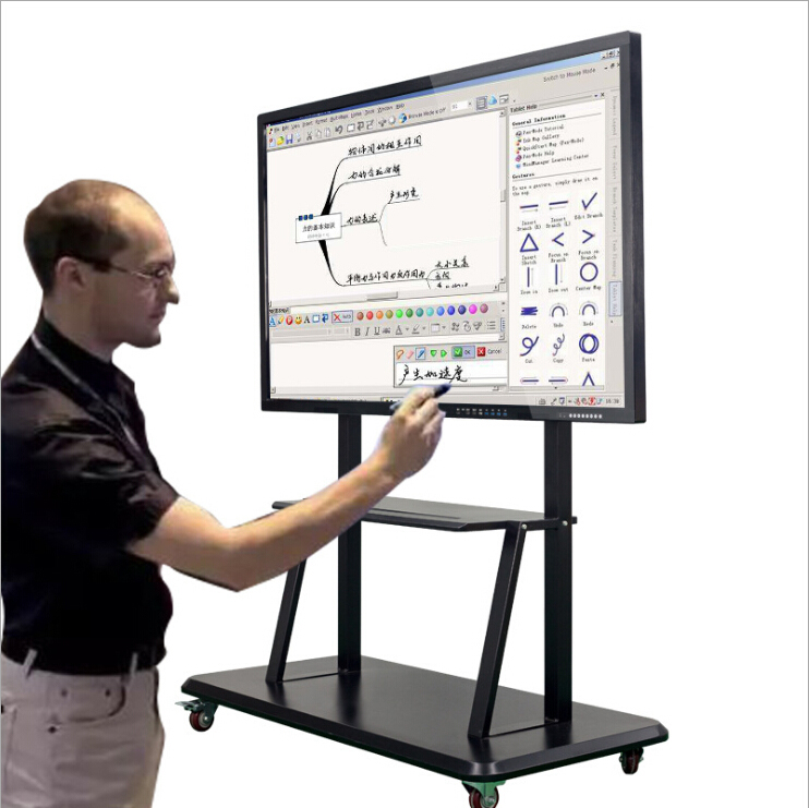 Cheap 50 Inch Touch Screen All In One Interactive Led