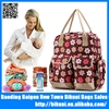 Alibaba China fashion hot sale printed mummy bag baby diaper backpack online shopping