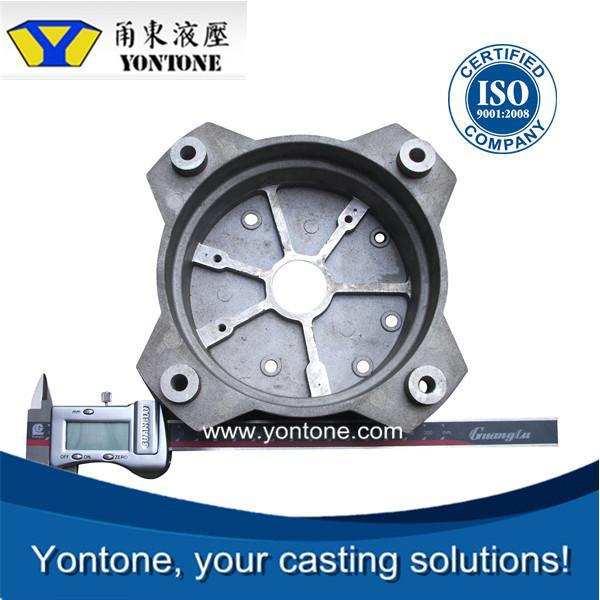 Yontone ISO Certified Manufacturer AlSi7Mg(Fe) ZL102 T6 forging parts for container aluminum die casting compressor part