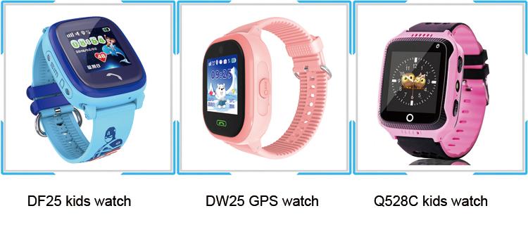 Caída de alarma Anti-perdido GPS Lbs Wifi RELOJ DE SEGUIMIENTO DE D100 ancianos Monitor de ritmo cardíaco reloj inteligente