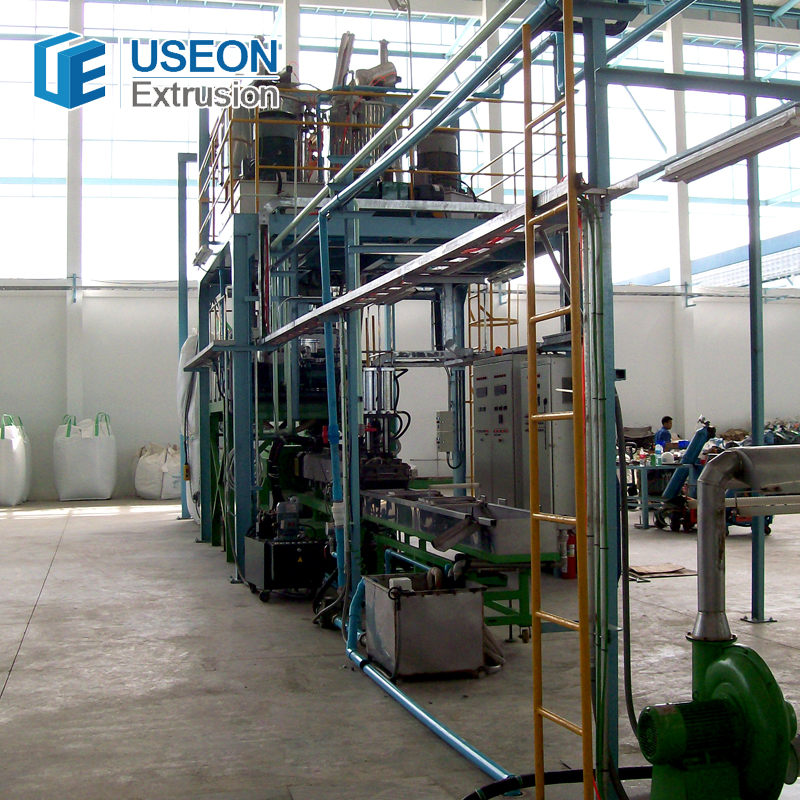 Quality guarantee nice used pp pe film plastic recycling production line machine