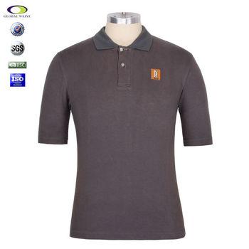 Cheap custom logo polo shirt golf shenzhen company buy for Corporate logo golf shirts