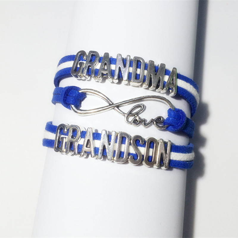 Buy Charm grandma grandson bracelets hot designer love grandmother bracelet fashion grandma jewelry best Christmas gifts in Cheap Price on m.alibaba.com & Buy Charm grandma grandson bracelets hot designer love grandmother ...