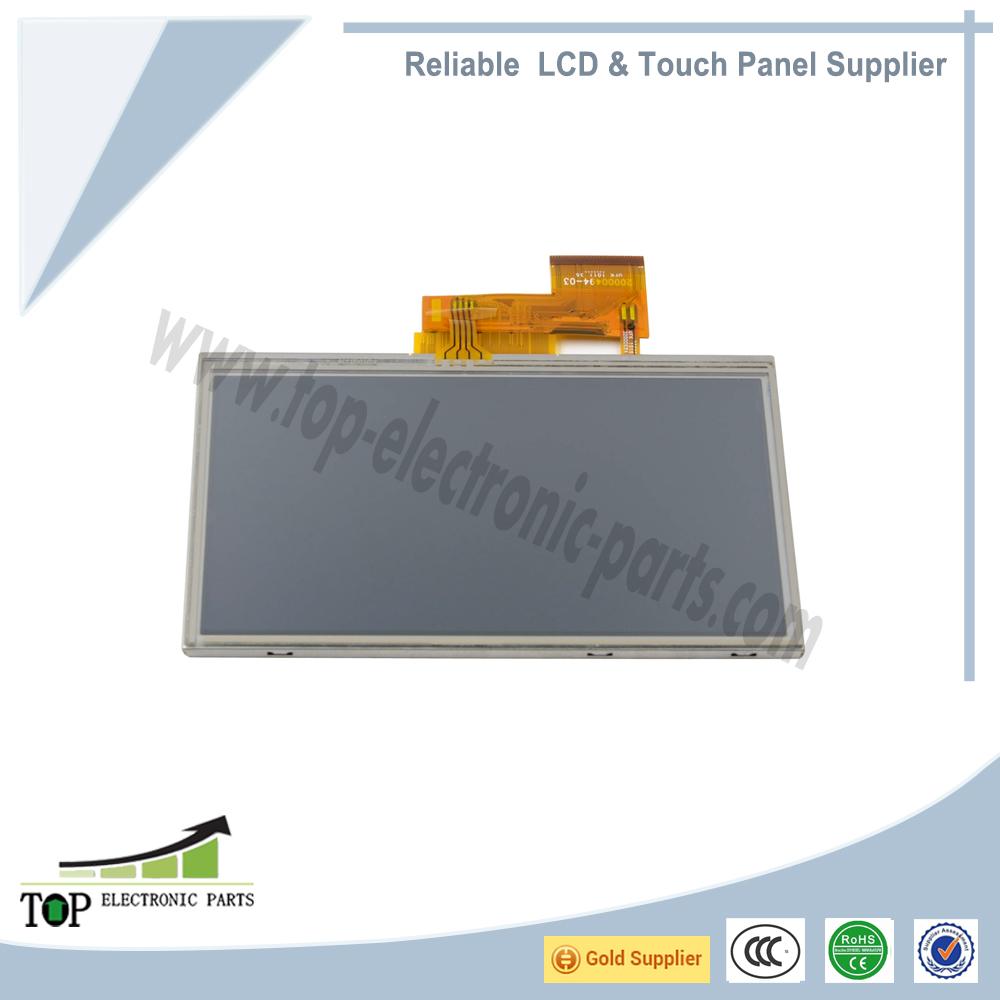 Full LCD Screen Display Panel For Garmin Nuvi 1450 1450T 1490 1490T AT050TN34 V1