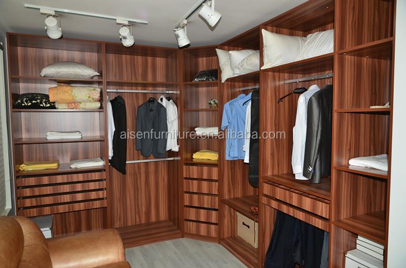 Dormitorio Moderno Muebles De Madera Cabina De Armario Dormitorio ...