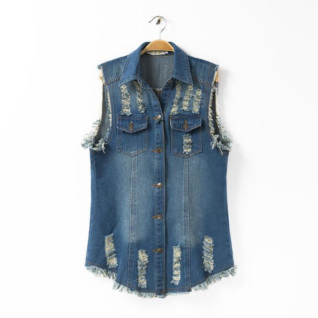 Cheap Sleeveless Denim Jacket Women, find Sleeveless Denim Jacket ...