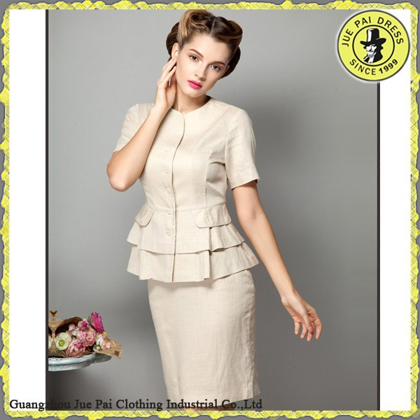 Batter Vintage Style Office Dress For Ladies