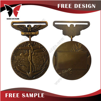 High End Metal Military Medal Ribbon Manufacturers