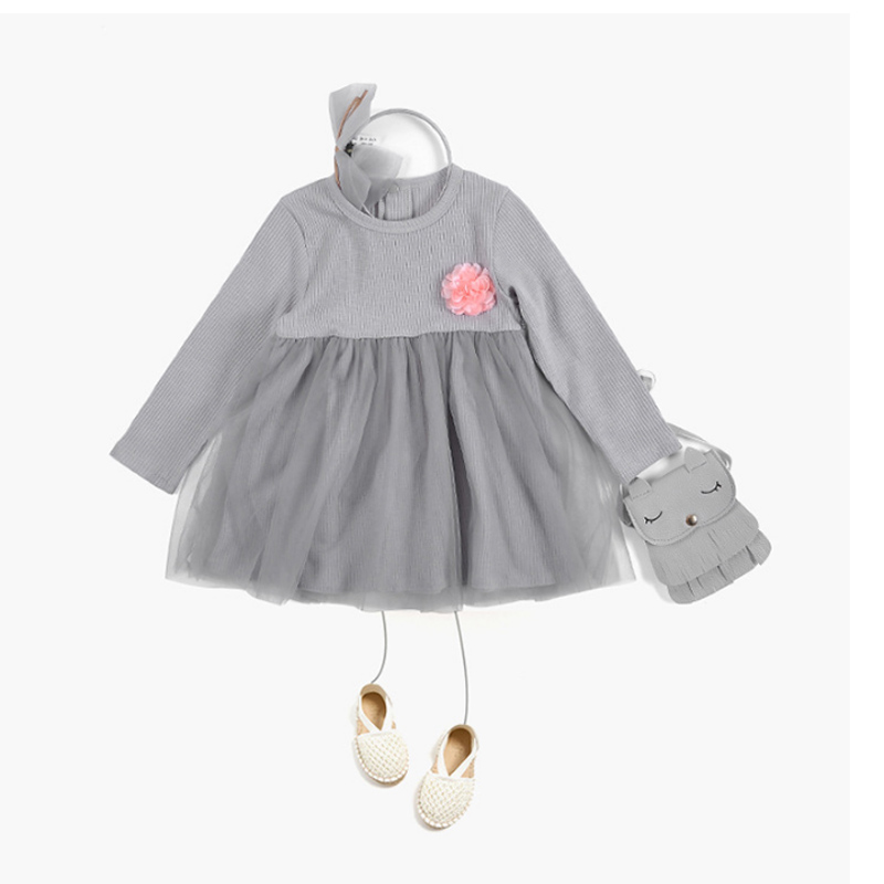 new model fashion girls long frocks dress Winter Autumn Baby Princess party dresses for 3 year old girl