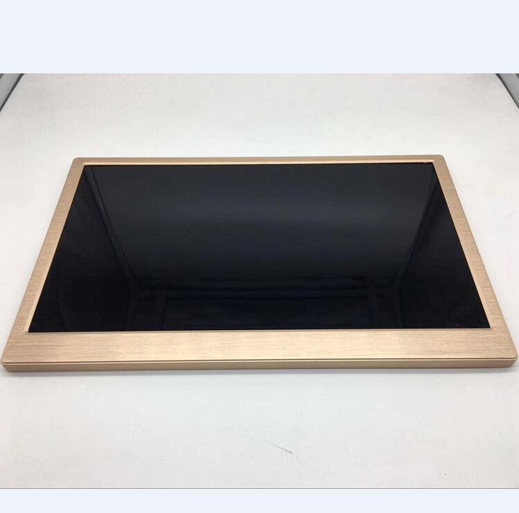Ultra high resolution utra thin 8mm thickness industrial and medical patient small size lcd monitor size 10.1 to 15.6 inch