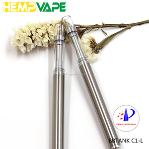 2018 One Time Use Vaporizer, Thick Oil E Cig Custom Wholesale Oil BBTANK C1-L Disposable Vape Pen