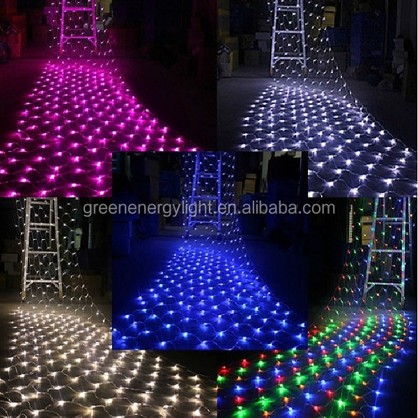 Target Christmas Shower Curtain 8w 220v/110v Led Fishing Net ...