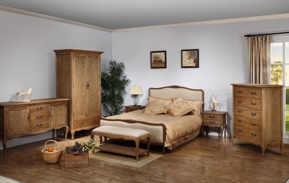 Europeos antiguos muebles de dormitorio de madera de color - Muebles de dormitorio antiguos ...