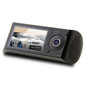 korea design car dvr camera with dual lens dual camera dash cam