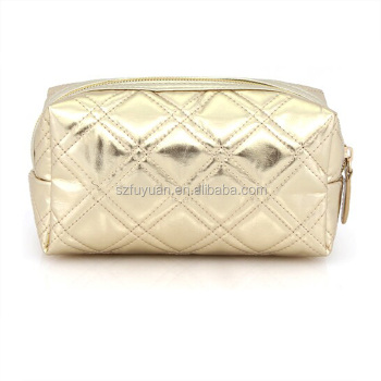 Quilted Cosmetic Bag Source · Custom Factory Small Moq Rose Gold Clutch  Cosmetic Bag Quilted 84bd2896d9ae7