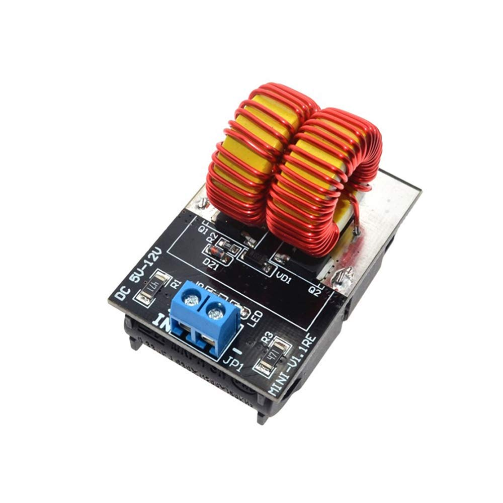 HUIMAI 5-12V ZVS Low Voltage Induction Heating Power Supply Module induction heating power supply with Coil