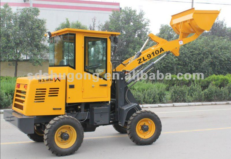multifunctional 1.2ton wheel loader