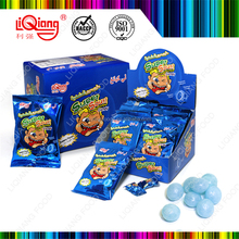 LQH-075 Korean Wholesale Center Filling Fruit Sweet Super Sour Hard Candy