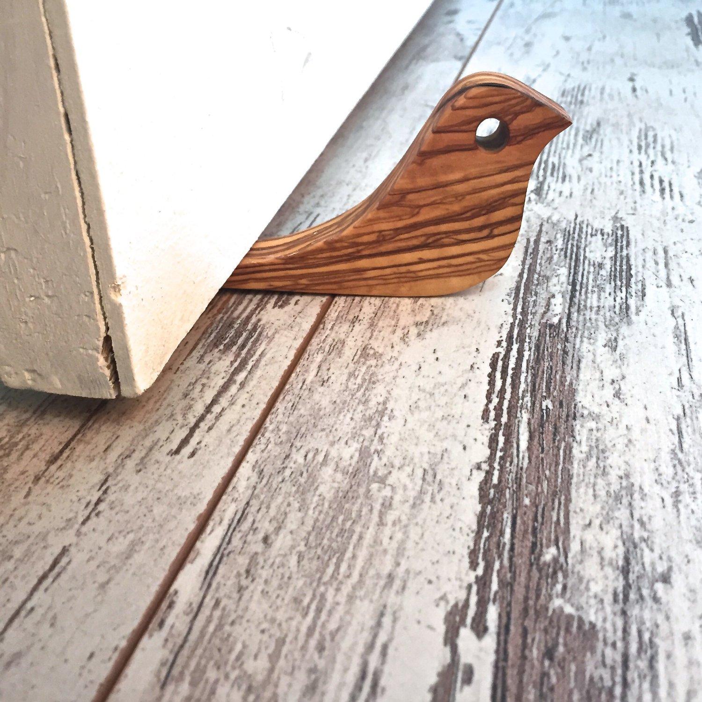 Get Quotations · Handmade Wooden (Olive Tree) Door Stop, Decorative And  Elegant Doorstop With Rustic Design