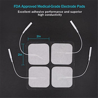 "2"" square self adhesive electrodes for tens machine"